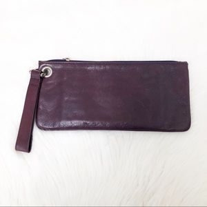 HOBO ~ Vida Leather Wristlet Clutch Bag
